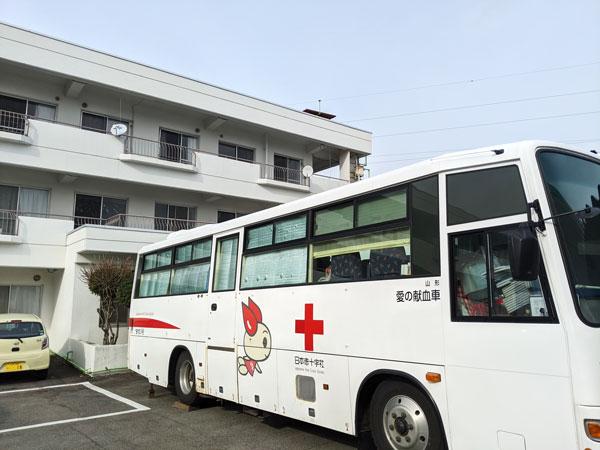 献血の様子その2