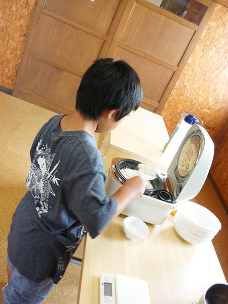 調理実習 カレー作りその4